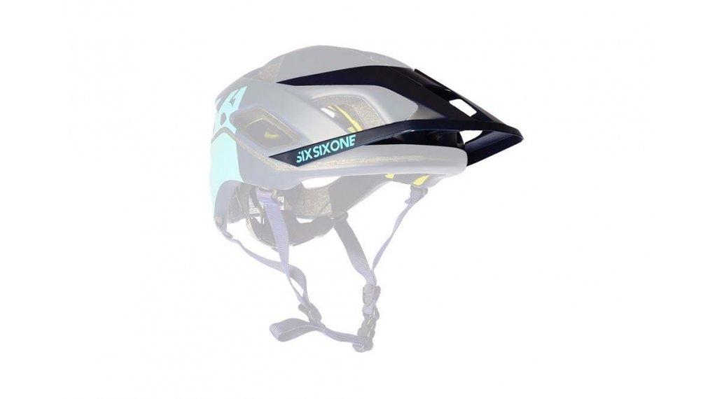 SixSixOne EVO AM/Patrol Helm-Ersatzvisier deep navy