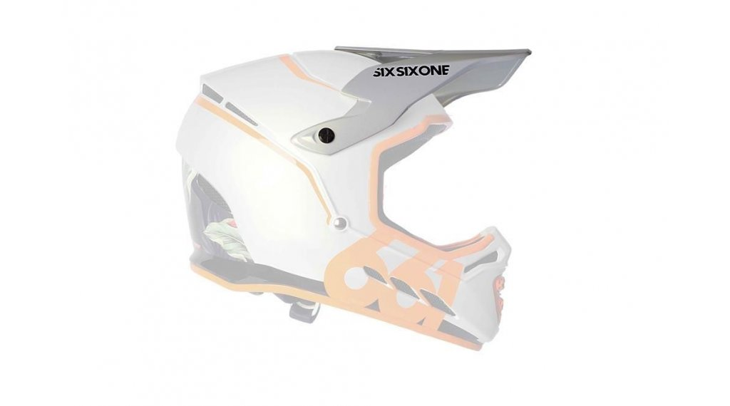 SixSixOne Reset Helm-Ersatzvisier tropic orange