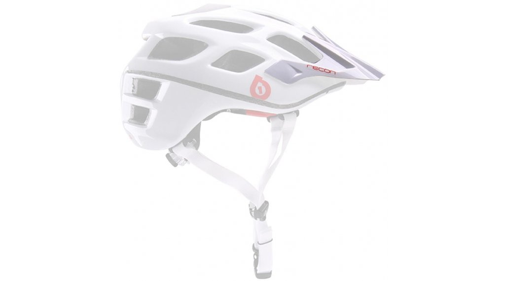 SixSixOne Recon Scout Helm-Ersatzvisier white/red