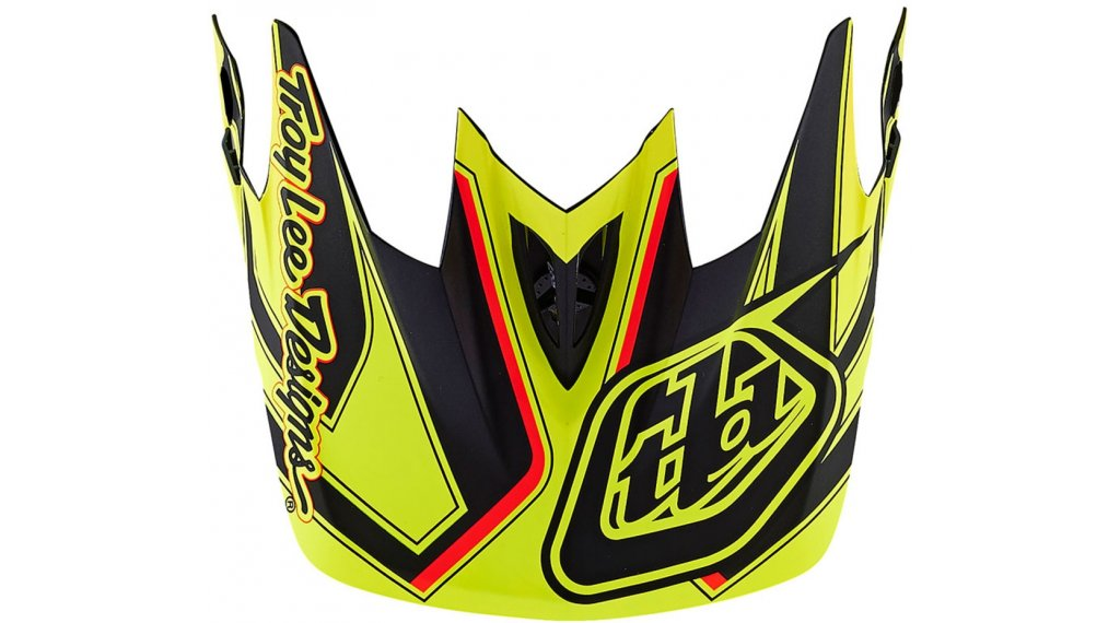 a0f53cea Troy Lee Designs D3 replacement visor reflex yellow