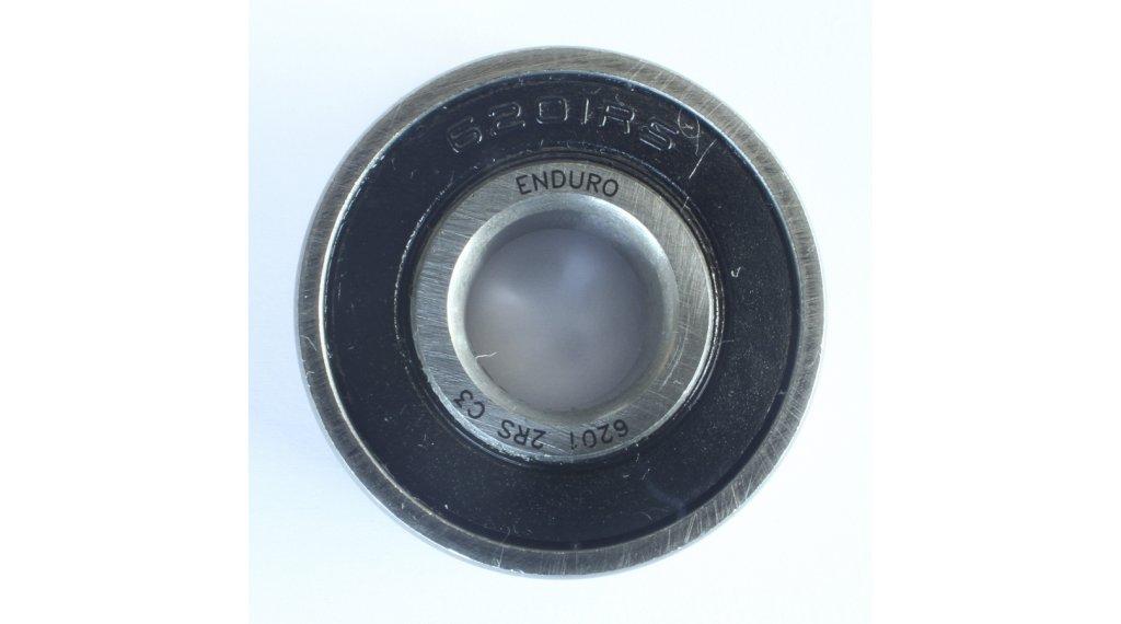 Enduro Bearings 6201 Kugellager 6201 2RS ABEC 3 12x32x10mm