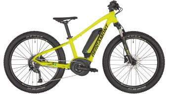 "Bergamont E-Revox Junior 24 24"" e-bike MTB kind (kinderen)komplettrad maat 32 cm yellow/black/blue (mat) model 2020"