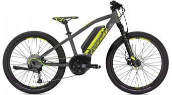 "Conway eMS 240 24"" e-bike fiets kind (kinderen) Gr. 33cm grey mat/lime model 2020"