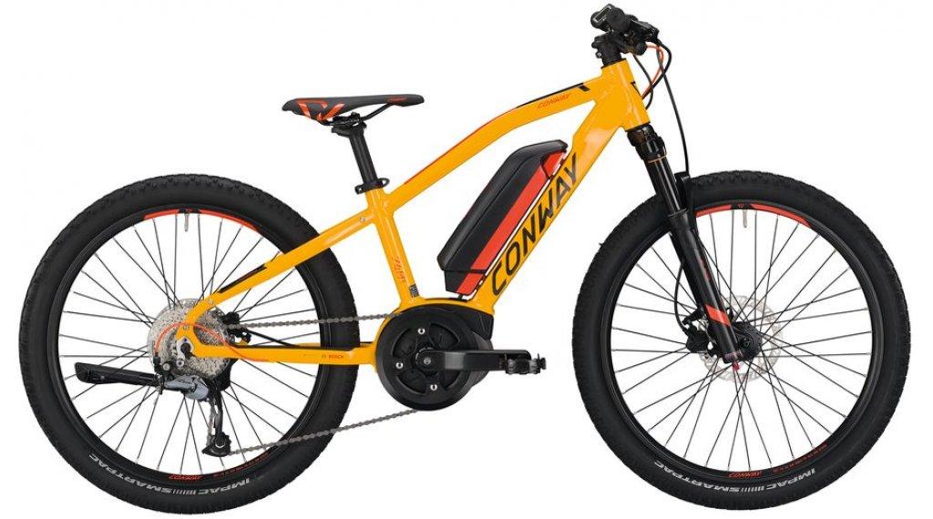 "Conway eMS 240 24"" E-Bike 整车 儿童 型号 33厘米 lightorange 款型 2020"