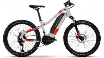 Haibike HardFour 24 E-Bike bici completa bambini mis.  unisize cool grigio/rosso/cyan mod. 2021