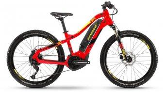 "Haibike SDURO HardFour 400Wh 24"" MTB E-Bike bambini mis. XS rosso/nero/giallo mod. 2019"