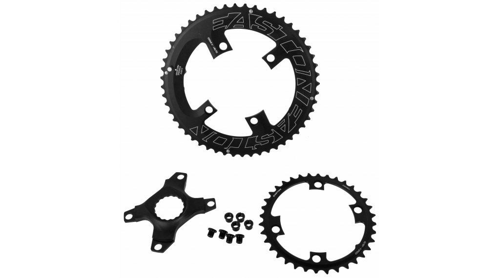 Easton Spider/Kettenblatt-Set (ASYM) 4-Loch (110mm) 11-fach 53/39-Zähne black