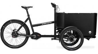 Butchers & Bicycles MK1-E Vario E- vélo Lastenroue sans Fronttür noir/Box noir
