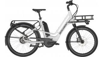 """Bergamont E-Cargoville Bakery 26"""" elektromos kerékpár Lastenrad komplett kerékpár Méret 46 cm white/black (matt/shiny) 2020 Modell"""