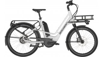 "Bergamont E-Cargoville Bakery 26"" E-Bike bici de carga bici completa cm blanco/negro (color apagado/shiny) Mod. 2020"