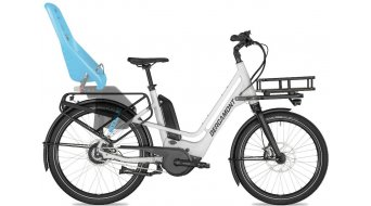 """Bergamont E-Cargoville Bakery 26"""" E-Bike bici de carga bici completa tamaño 46 cm blanco/negro (color apagado/shiny) Mod. 2020"""