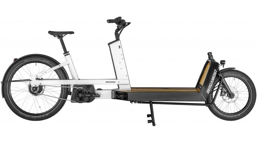 "Bergamont E-Cargoville LJ 70 26"" E-Bike Lastenrad 整车 型号 均码 white/black (shiny) 款型 2020"
