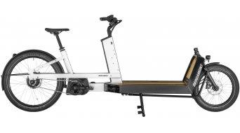 """Bergamont E-Cargoville LJ 70 26"""" E- vélo Lastenroue vélo taille unique blanc/noir (shiny) Mod. 2020"""