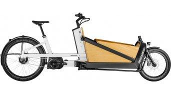 Bergamont E-Cargoville LJ Expert 26 E-Bike bici de carga tamaño unisize blanco/negro Mod. 2021