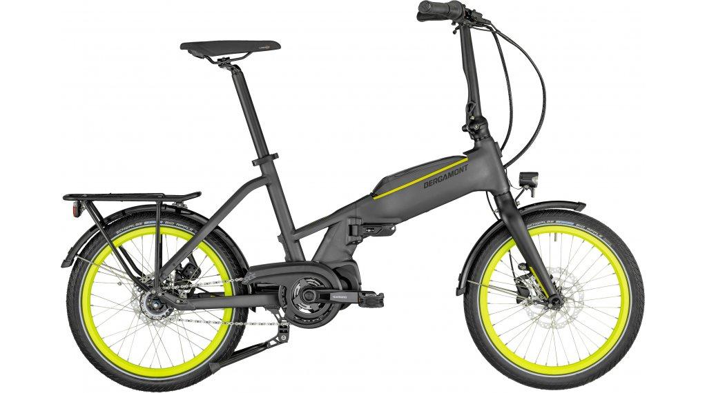 """Bergamont Paul-E EQ Edition 20"""" E-Bike Faltrad Gr. unisize anthracite/neon yellow Mod. 2021"""