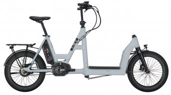 i:SY DriveE Cargo N3.8 ZR E- bike Lastenwheel unisize tele grey matt