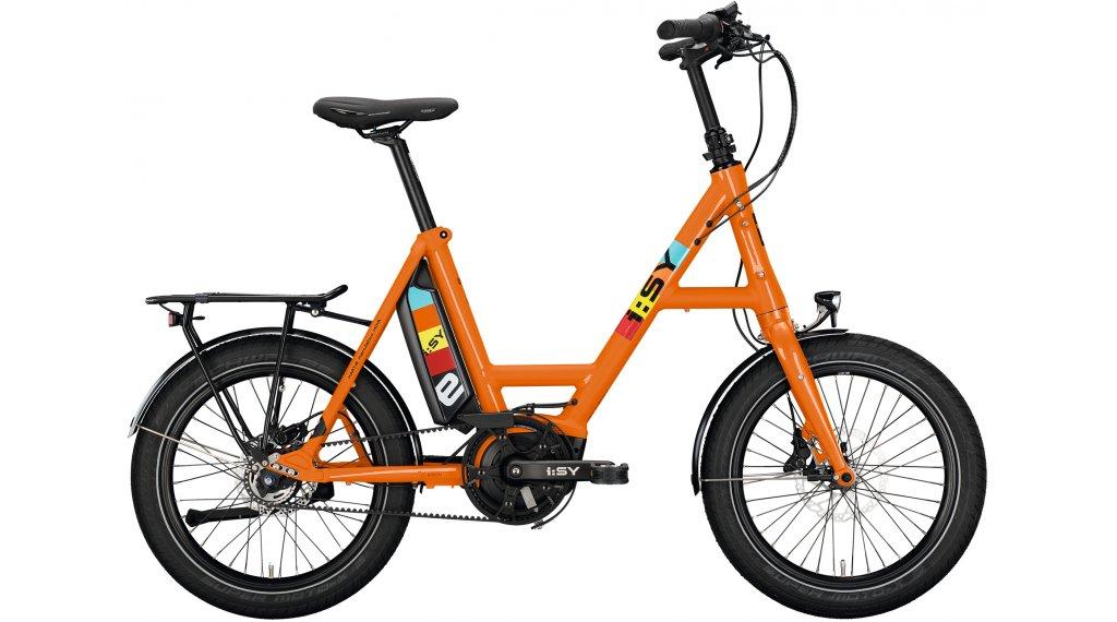 i:SY DrivE E5 ZR E-Bike Lastenrad Gr. unisize reinorange