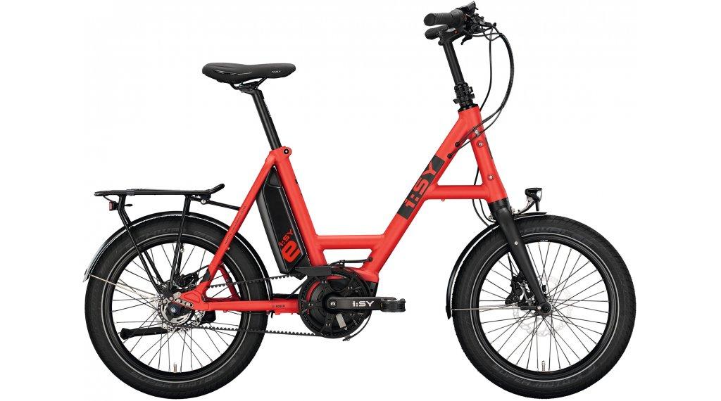 i:SY DrivE E5 ZR E-Bike Lastenrad Gr. unisize ferrarirot matt