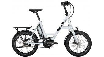 i:SY DrivE E5 ZR E-Bike Lastenrad Gr. unisize crystal white