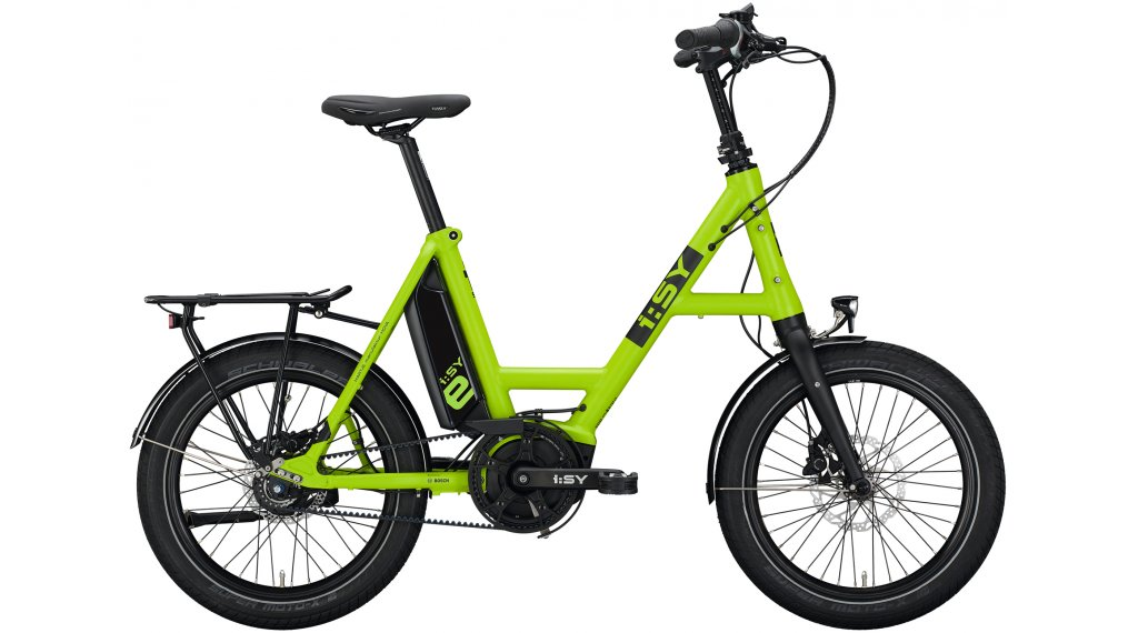 i:SY DrivE S8 ZR RT E-Bike Lastenrad Gr. unisize light green matt
