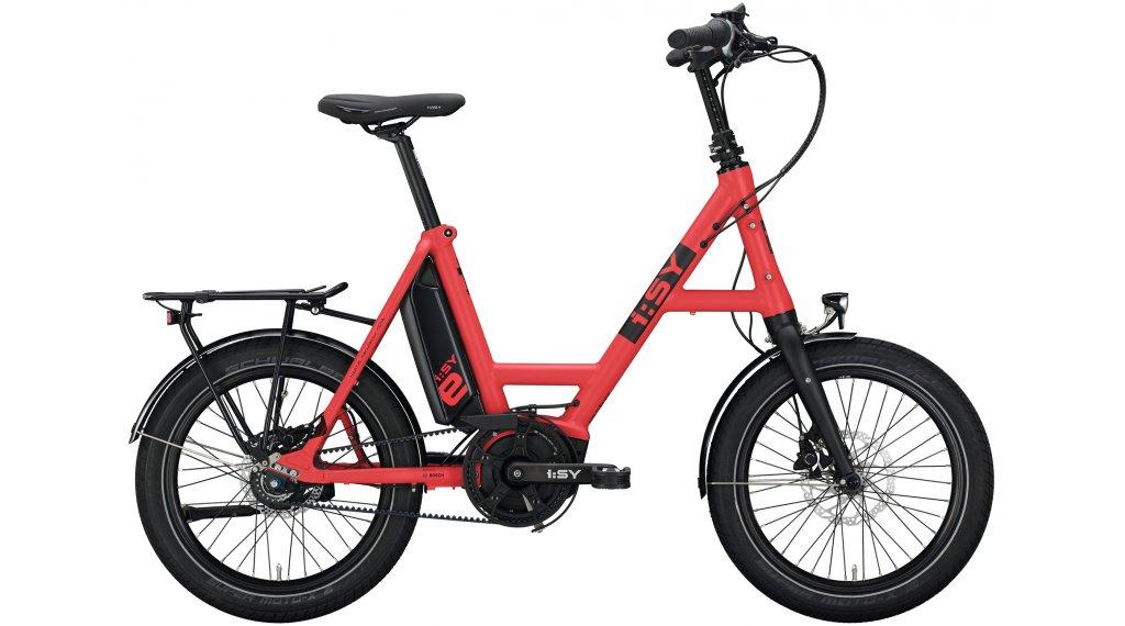 i:SY DrivE S8 ZR RT E-Bike Lastenrad Gr. unisize ferrarirot matt