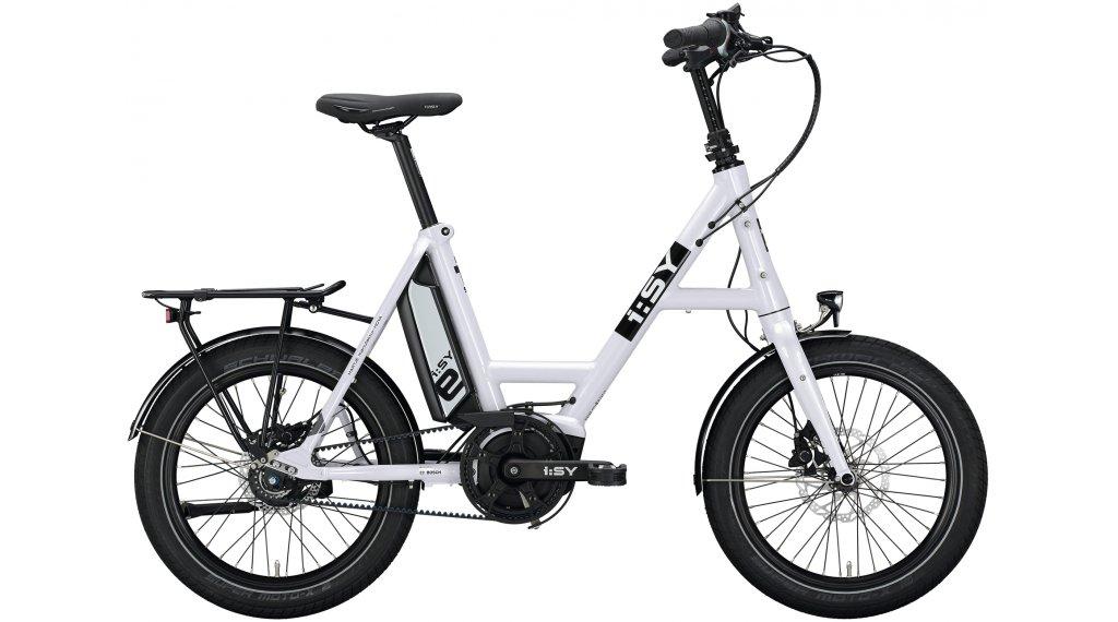 i:SY DrivE S8 ZR RT E-Bike bici de carga tamaño unisize crystal blanco