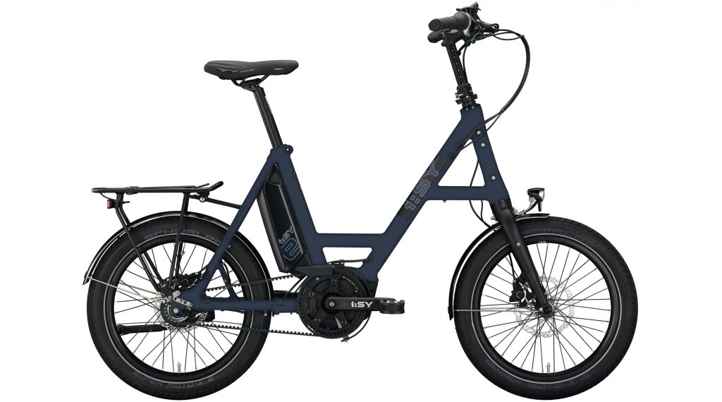 i:SY DrivE S8 ZR E-Bike bici de carga tamaño unisize berryllblau
