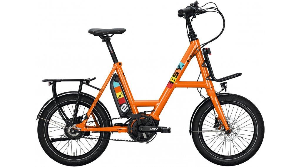 i:SY DrivE XXL N3.8 ZR E-Bike bici da carico mis. unisize reinorange