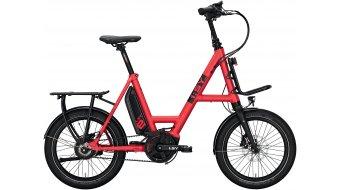 i:SY DrivE XXL N3.8 ZR E-Bike Lastenrad Gr. unisize ferrarirot matt