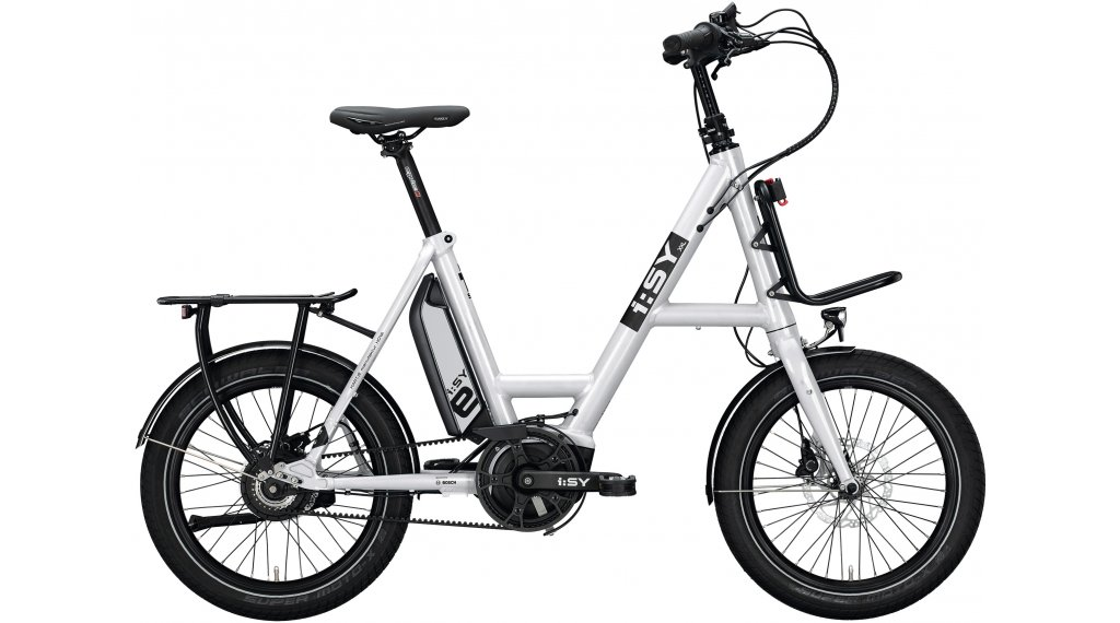 i:SY DrivE XXL N3.8 ZR E-Bike Lastenrad Gr. unisize crystal white