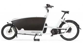 Urban Arrow Family Active Plus Rollerbrakes E-Lastenrad 400Wh bianco mod. 2020