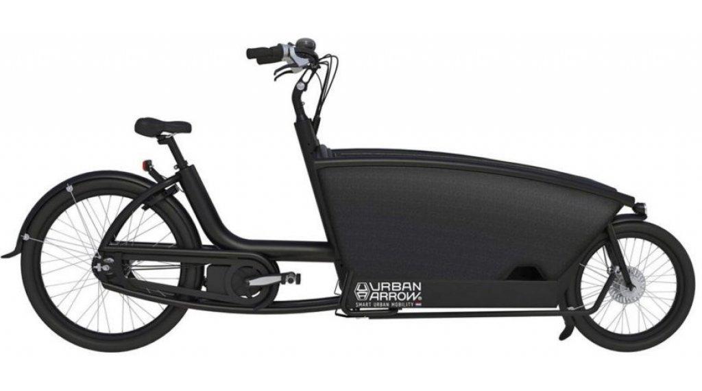 Urban Arrow Family Active Plus Rollerbrakes E-Lastenrad 400Wh nero mod. 2020