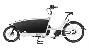 Urban Arrow Family BOSCH Performance Disc E-Lastenrad (400Wh) Gr. Unisize weiss