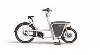 Urban Arrow Shorty Flatbad BOSCH Active Roller E-Lastenrad (400Wh) Unisize
