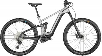 Bergamont E-Trailster Expert 29 E-Bike MTB Komplettrad raw alloy/black Mod. 2021