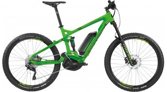 Bergamont E-Line Trailster C 7.0 400 27.5 E- bike MTB bike mens version size M lime/green/black 2016