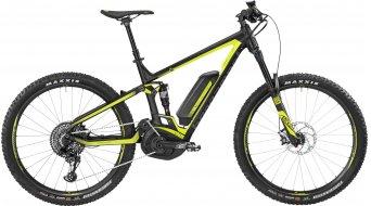 Bergamont E-Trailster 9.0 650B/27.5 MTB E-Bike bici completa tamaño L negro/color neón amarillo (color apagado/shiny) Mod. 2017