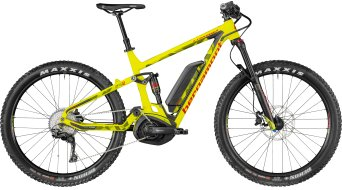 "Bergamont E-Contrail 6.0 Plus 650B+/27.5""+ MTB E- bike bike lime/olive/red (matt) 2018"