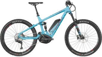 "Bergamont E-Trailster 8.0 650B / 27.5"" MTB E-Bike Komplettbike Gr. M coral blue/petrol/red (matt) Mod. 2018"