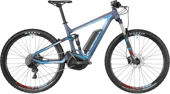 "Bergamont E-Contrail 6.0 29"" MTB E-Bike Komplettbike dark bluegrey/ice blue/red (matt) Mod. 2018"