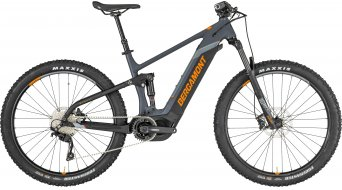 "Bergamont E-Contrail Sport 27.5""/650B E-Bike MTB bici completa solid grey/negro/naranja (color apagado) Mod. 2019"