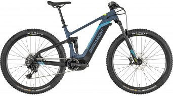 """Bergamont E-Contrail Pro 29"""" E-Bike MTB bici completa azul grey/negro/amarillo (color apagado) Mod. 2019"""