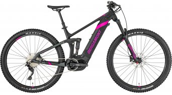 "Bergamont E-Trailster Sport FMN 29"" E-Bike MTB Komplettbike Damen-Rad black/anthracite/berry (matt/shiny) Mod. 2019"