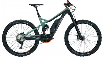 """Conway eWME 627 27.5"""" / 650B MTB E-Bike Komplettrad black matt/grey/orange Mod. 2018"""