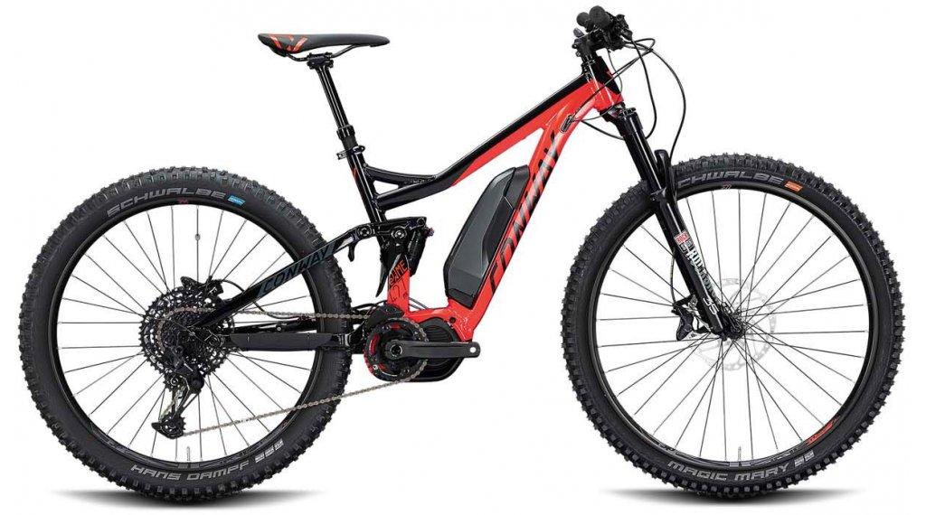 """Conway eWME 427 MX 27.5"""" E-Bike MTB Komplettrad Gr. L red/black Mod. 2020"""