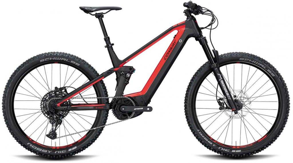 "Conway Xyron 327 27,5"" E-Bike MTB-Komplettrad Gr. L red/black matt Mod. 2020"