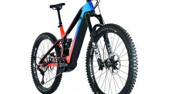 "Conway Xyron S 827 27.5"" E-Bike MTB Komplettrad Gr. M pearl red/blue Mod. 2021"