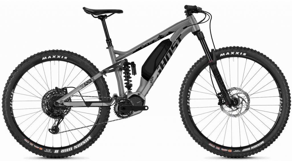"Ghost Hybride SLAMR X S3.7+ AL U 29""/27.5+ E-Bike Komplettrad Gr. S urban gray/jet black Mod. 2020"