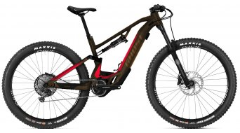 Ghost Hybride ASX Essential 160 29#*en*#/#*en*#27.5+ e-bike MTB fiets darkchoco/metbrown model 2021