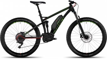 Ghost Kato FS 6 AL 650B/27.5+ E- bike bike black/riot green/neon red 2017